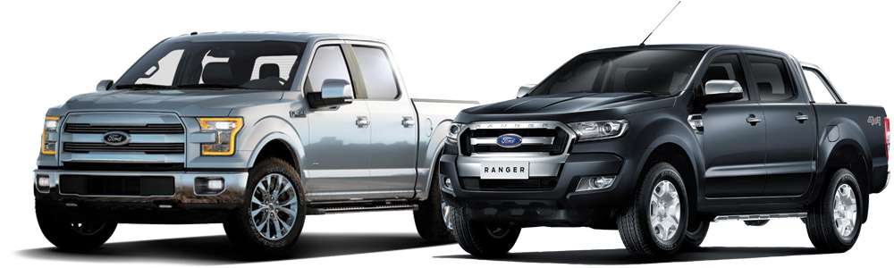 Ford F150 and Ford Ranger