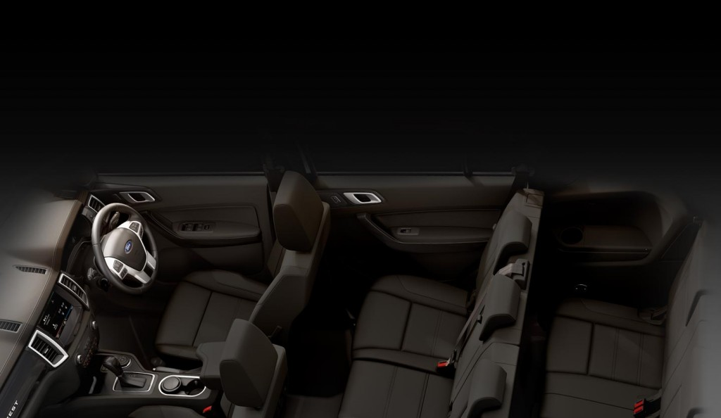 Ford Everest Clever Comfort Interior