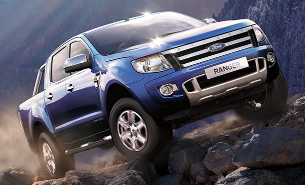 Ford Ranger's new 4-Wheel-Drive System